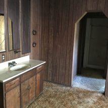 Back Addition Vanity & Bathroom