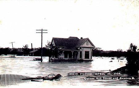 Hico Flood April 17 1908